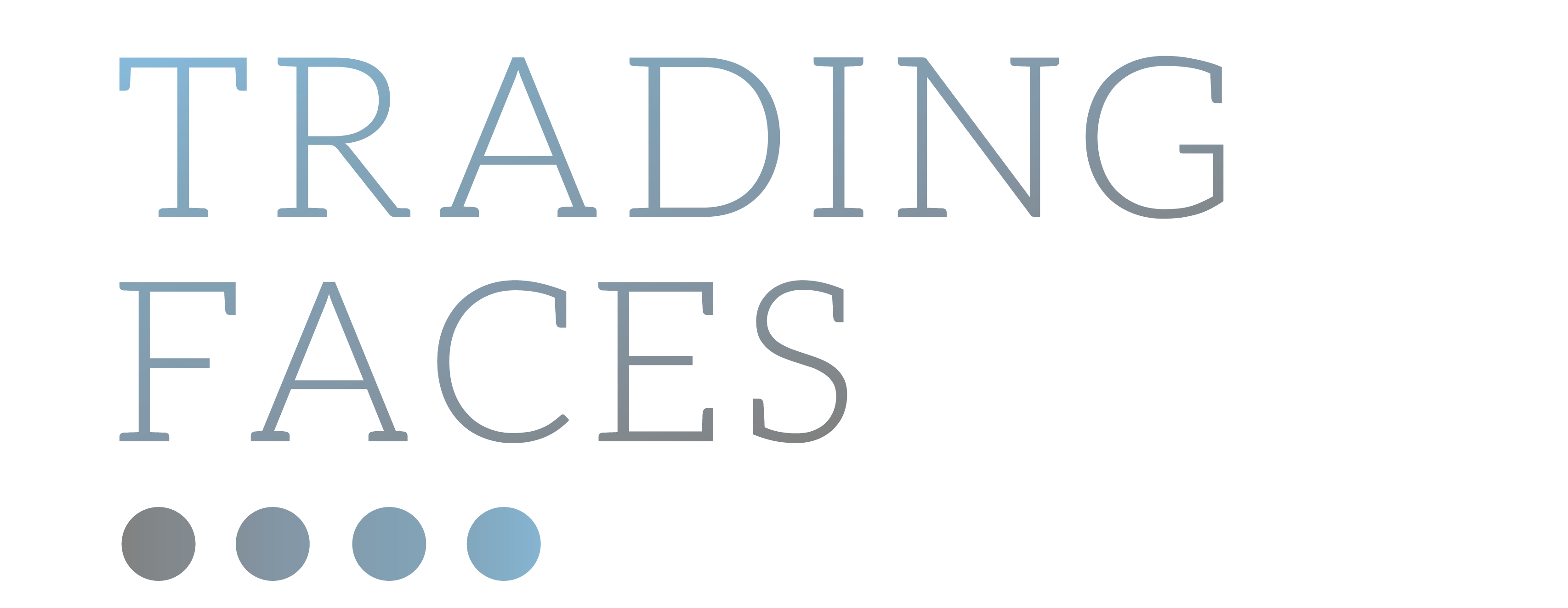 Trading Faces by Jane Sandow Logo
